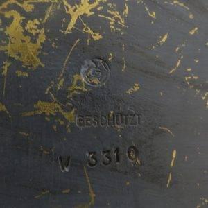 """Клеймо """"Geschützt"""" с серийным номером"""