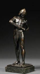 Пример работы Ф.Лугерта для «Ателье современной бронзы» А. Рубинштейна